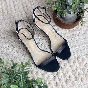 SAM EDELMAN Patti Strappy Dress Sandal Black 8.5 W
